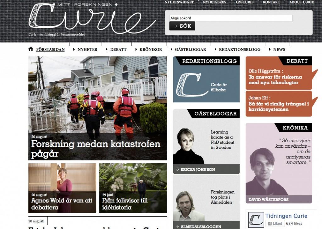 Toppade Curie 20 augusti :)